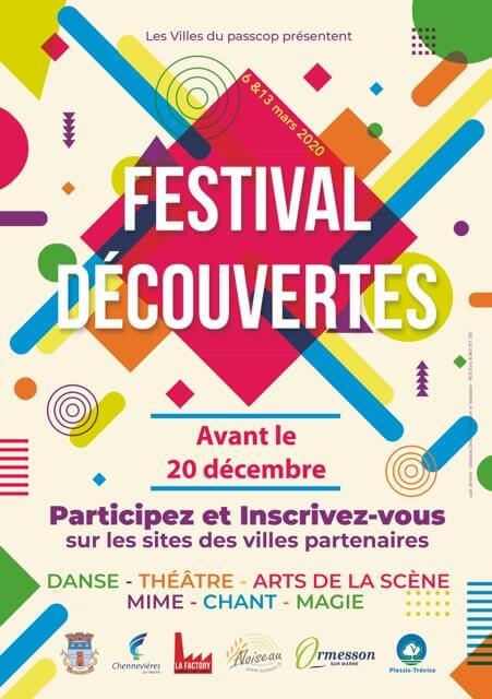 Participez au Festival Découvertes